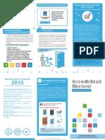 Triptico accesibilidad 2015