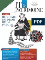 Une Droit & Patrimoine n° 250