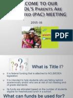 school pac update 15-16