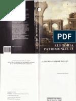 Alegoria Patrimoniului