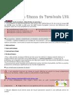 L'anglais en Classe de Term. LVA