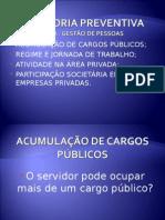 Acumulação de Cargos Públicos