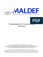 maldef scholarships