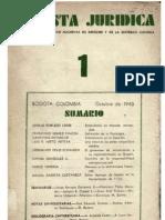 Cayetano Betancur, Primitivismo en El Derecho (1943)