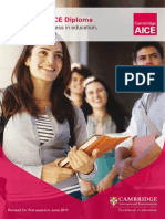 aice diploma brochure  2017 and beyond