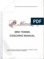 Mini Tennis Coaching Manual
