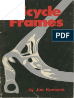 Bicycle Frames Joe Kossack