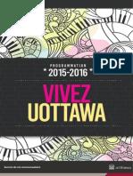 Programmation 2015-2016