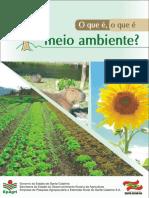 Cartilha Meio Ambiente - EPAGRI