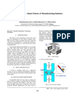 Smart Future of Manufacturing Industry