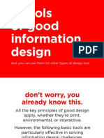 InfoDesign Tools of Design