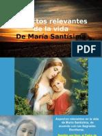 Aspectos Relevantes de La Vida de María.