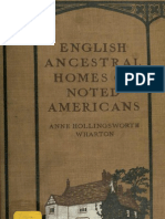 English Ancestral Homes of Noted Americans (1915)