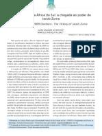 Eleições 2009 na Africa do Sul a chegada ao poder de Jacob Zuma.pdf