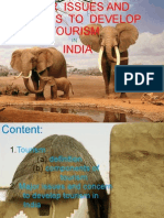 Issues for Devel. of Tourism in India