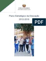 Plano Estrategico Da Educacao 2012 - 2016