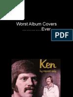 Worst Album Covers Ever