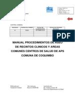 Manual de Procedimientos de Aseo APS.