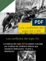 1 Los Conflictos Del Siglo Xx y Xxi