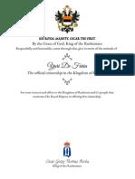 addbb98eaff5 Citizenship Certificate - Yuri de Faria