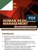 Human Resource Mgnt