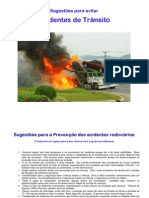 Suggestions for Road Safety-Portugese