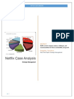 Netflix Case Analysis