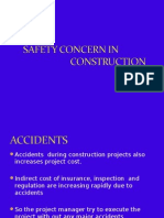 safety concern in const