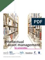Intellectual Asset Management