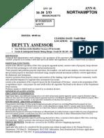 Dep. Assess.16 30