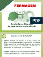 PALESTRA SOBRE ACIDENTES E DOENÇAS OCUPACIONAIS NA ENFERMAGEM.pptx
