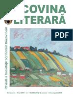 Bucovina Literara nr. 7-8, 2015