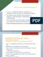 La primera constitución de la república del Ecuador.pptx