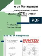 Sun Tzu on Management