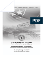 National Baptist Convention - 135th Annual Session Program