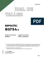 Sm d375a-3 Español