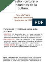 Fernando Vicario. Gestión ICCs. España