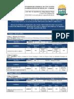 Versão II Horários e Locais Sorteio Do Tema, Entrevista e Prova Didática - Prof. Subst. 2015-2