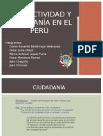 Productividad y Ciudadanía en El Perú
