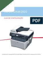 KM2810-2820 Guia de Configuração
