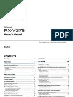 RX-V379 Manual English
