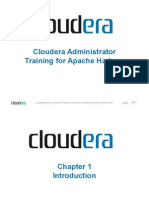 Cloudera Administrator Training