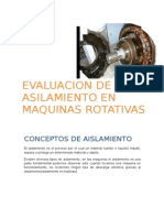 Grupo 5 Evaluacion Del Aislamento en Maquinas Rotativas