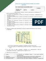 Prova Sinistros 26-09-2014