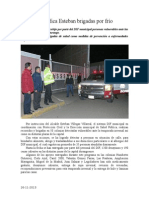 26.11.2013 Comunicado Intensifica Esteban Brigadas Por Bajas Temperaturas