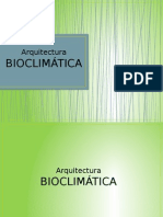 Notas de Aquitectura Bioclimatica