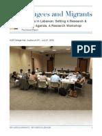 refugees workshop lebanon report copy