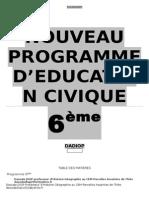 Fascicule EC 6ème'