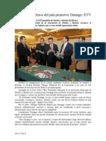 28.11.2013 Comunicado Ofrecen Hoteleros Del País Promover Durango EVV