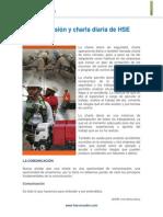 Supervisión y Charla Diaria HSE
